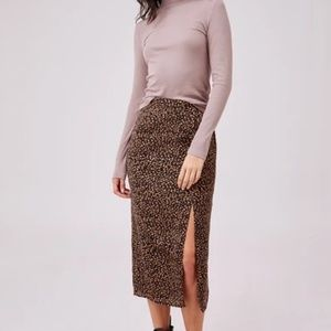 NWT The Fifth Label Optical Skirt Black Spot L(8)